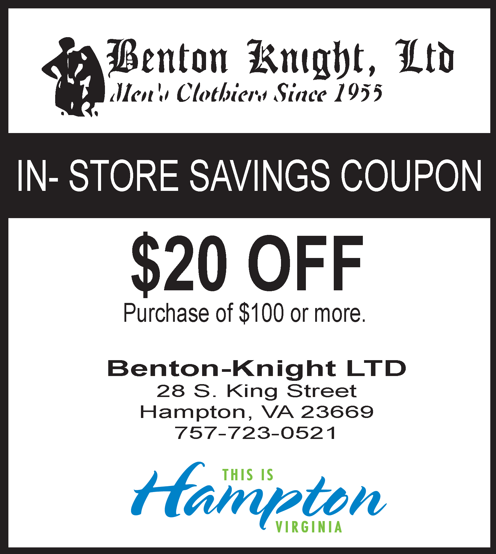 Benton-Knight Clothier