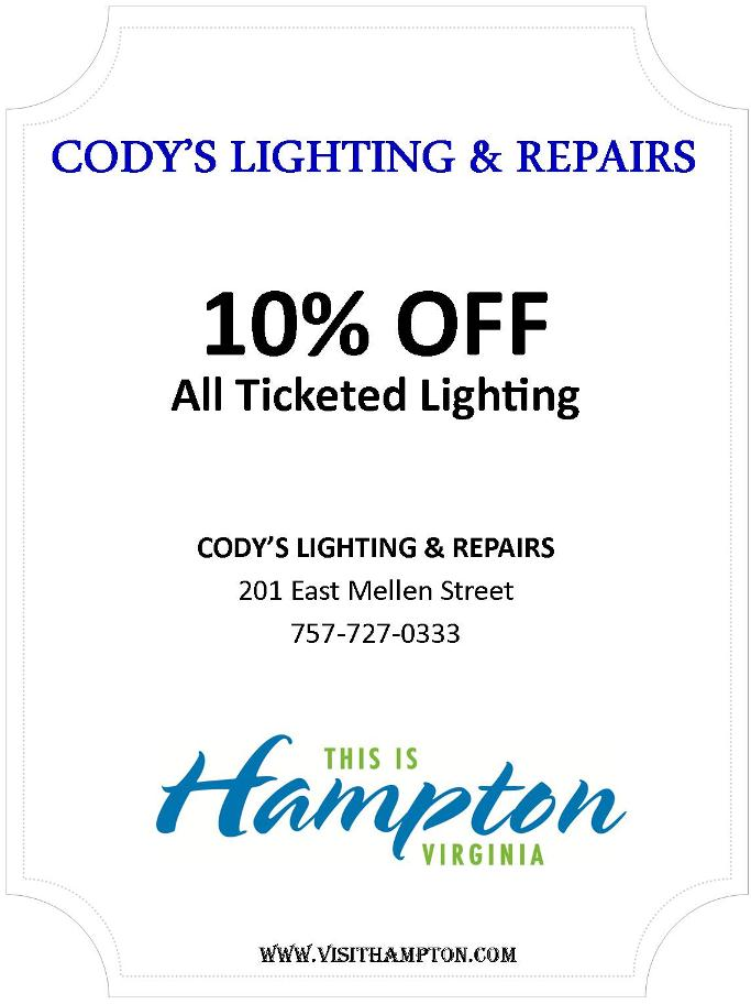 Cody's Lighting &amp; Repair Inc.