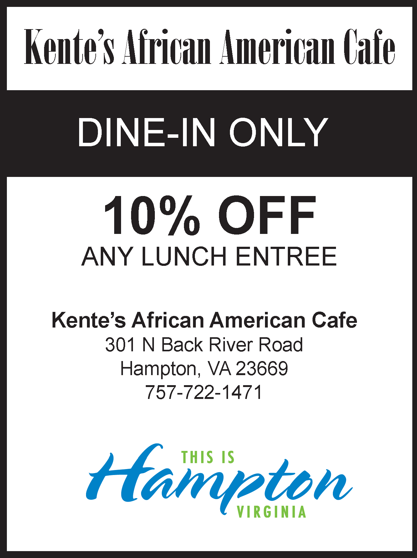 Kente's African American Cafe